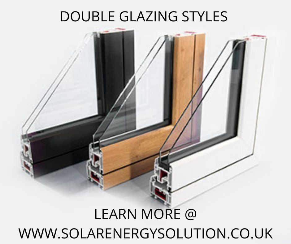 different types of double glazing styles available with grants for double glazing