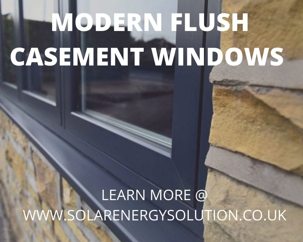 flush casement windows in Norfolk